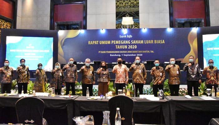 RUPSLB bank bjb Dorong Pertumbuhan Kredit di Segmen Komersial dan UMKM