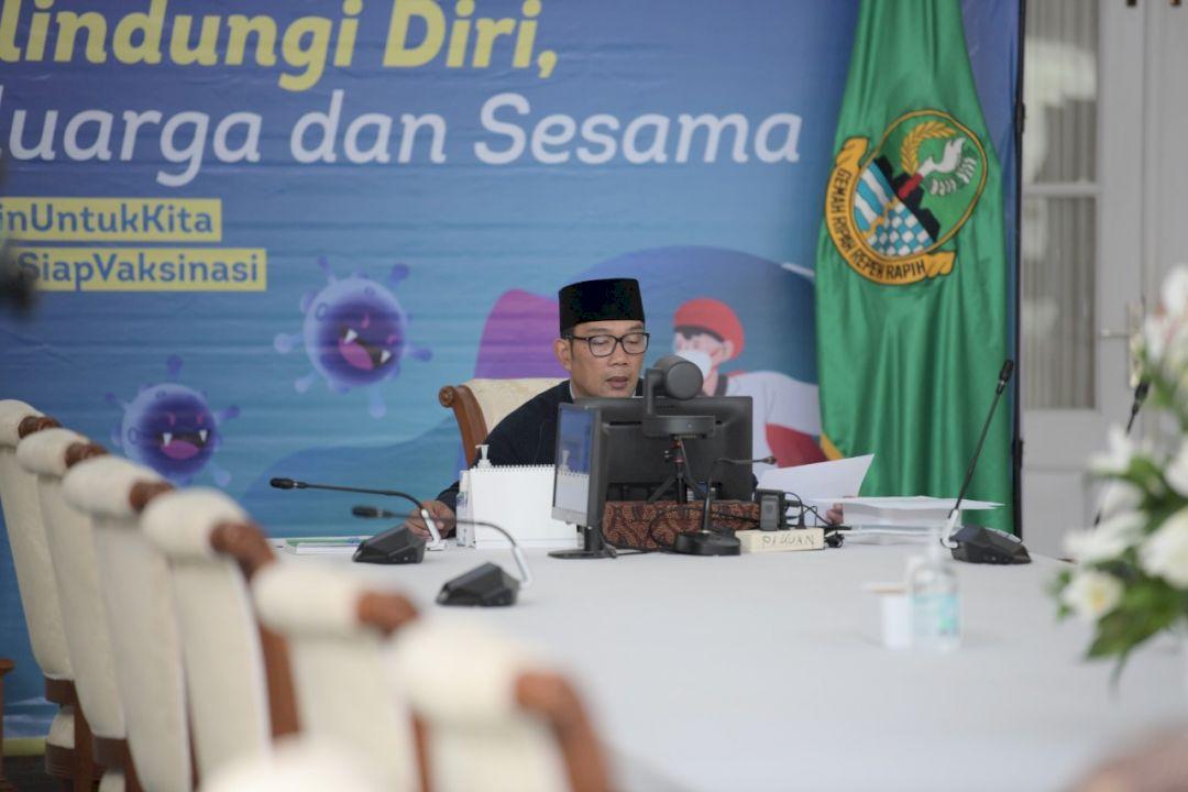 Gubernur Ridwan Kamil dan Kemendagri Luncurkan Aplikasi e-Perda di Jawa Barat