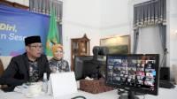 Gubernur Jabar Sapa Petugas Pos Penjagaan di Jabar Secara Virtual