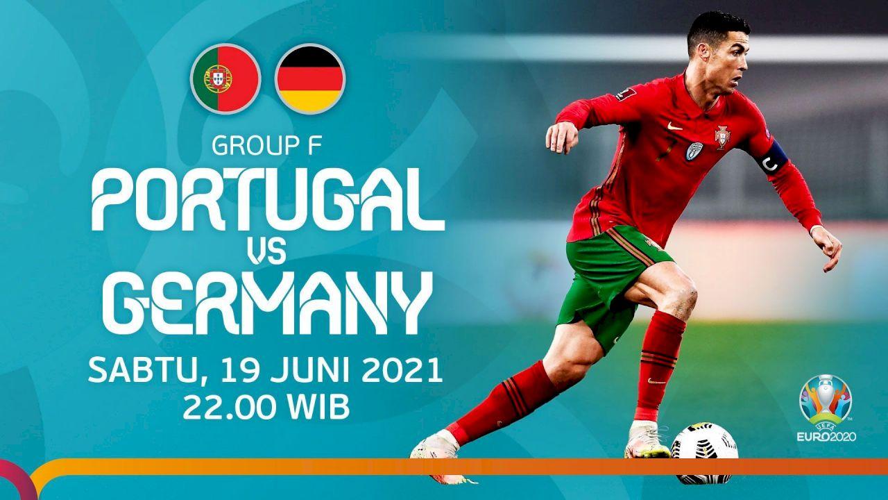 Link Live Streaming dan Siaran Langsung TV Euro 2020 Malam Ini Portugal vs Jerman