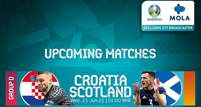 Jadwal Live Streaming Kroasia vs Skotlandia di TV Online, Cek Linknya di Sini