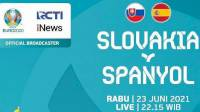 Link Live Streaming Euro 2020 Spanyol vs Slovakia dan Cara Nontonnya