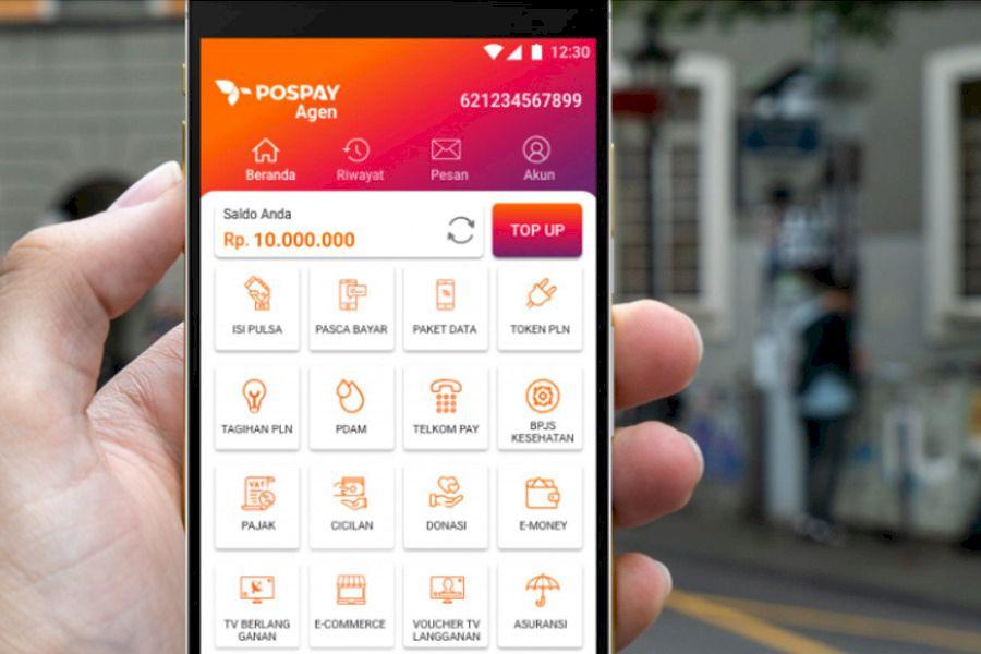 PT Pos Indonesia Perkenalkan Aplikasi Pospay Agen